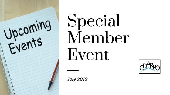 special member event