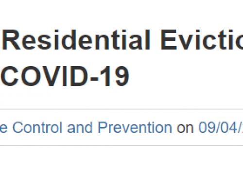 """""""Eviction Lab"""" Discussing the CDC Moratorium"""